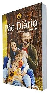 Kit 10 Devocional Pão Diário 2021 Volume 24 Capa Família