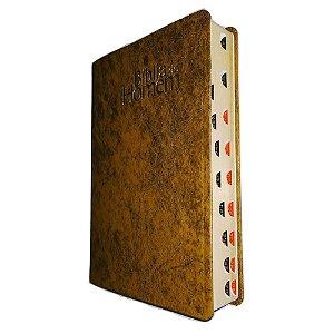 Bíblia do Homem NVI Luxo - Marrom Com Índice