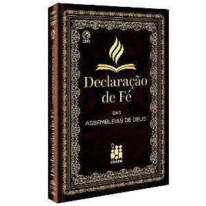 Livro Declaração de Fé das Assembleias de Deus - CPAD