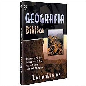 Livro Geografia Bíblica Claudionor de Andrade - CPAD