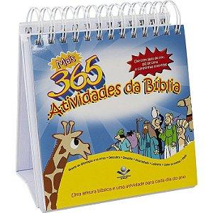 Mais 365 Atividades da Bíblia - Calendário - Sbb