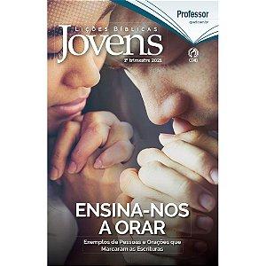 Revista Lições Bíblicas Jovens Professor 1º Trimestre 2021
