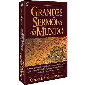 Livro Grandes Sermões Do Mundo - Clarence Macartney - Cpad