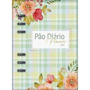 Pão Diário Planner 2021 - Capa Verde