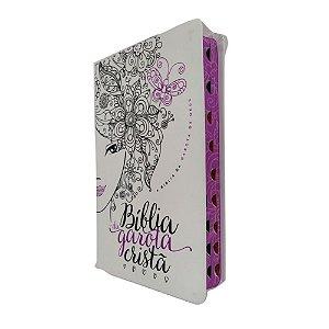 Bíblia Da Garota Cristã NTLH Glitter Roxo - Thomas Nelson