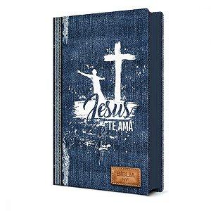 Bíblia Sagrada Jeans NVI - Pão Diário