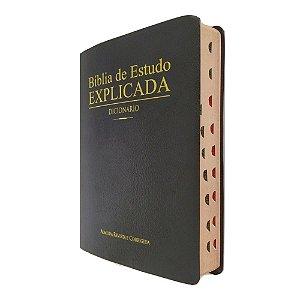 Bíblia De Estudo Explicada Com Dicionário Capa Covertex CPAD