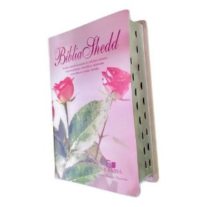 Bíblia de Estudo Shedd Capa Feminina Covertex - Com Índice