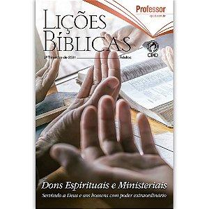 Revista Lições Bíblicas Adultos Professor 2º Tri. de 2021
