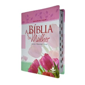 A Bíblia Da Mulher Leitura Devocional e Estudo - Grande -SBB