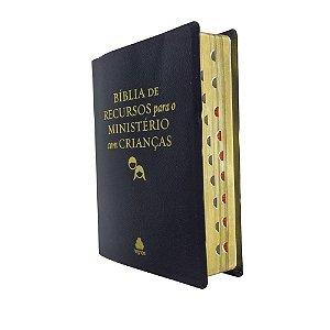 Bíblia De Recursos Para o Ministério Com Crianças - Preta