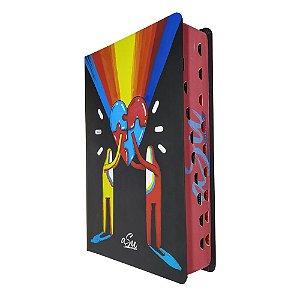 Bíblia Sagrada Letra Grande NVT Coração Color ASU - MC