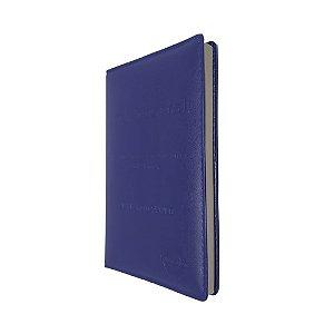 Harpa Pentecostal 692 Com Corinhos Letra Gigante - Azul Kc