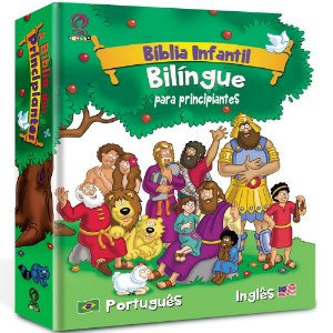 Bíblia Infantil Bilíngue Para Principiantes - Capa Dura Cpad