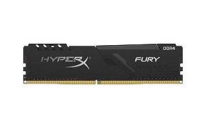 MEMORIA P/ DESKTOP HYPERX FURY 4GB DDR4 1.2V HX426C16FB3/4 2666MHZ
