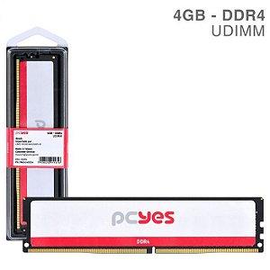 MEMORIA P/ DESKTOP PCYES 4GB DDR4 1.2V PM042400D4 2400MHZ