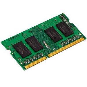 MEMORIA P/ NOTEBOOK KINGSTON 4GB DDR4 1.2V KVR24S17S8/4 2400MHZ