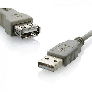 CABO EXTENSOR MULTILASER USB 2.0 A MACHO X A FEMEA 1.8M