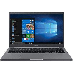 NOTEBOOK SAMSUNG BOOK NP550 I5-1135G7 8GB 256GB SSD 15.6'' FULL HD WINDOWS 10 HOME NP550XDA-KF2BR PRATA