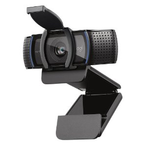 WEBCAM LOGITECH C920S 1080P USB 960-001257 C/ MICROFONE PRETO