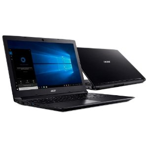 "NOTEBOOK ACER ASPIRE 3 I5-7200 4GB 1TB 15.6"" WINDOWS 10 HOME PRETO"