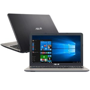 "NOTEBOOK ASUS MAX CELERON 4GB 500GB 15.6"" WINDOWS 10"