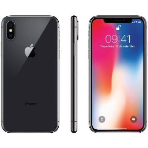"IPHONE X 64GB 12MP 5.8"" SUPER RETINA HD OLED SPACE GRAY"