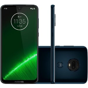"SMARTPHONE MOTOROLA G7 PLUS 64GB 16MP 6.2"" ANDROID 9.0 INDIGO"