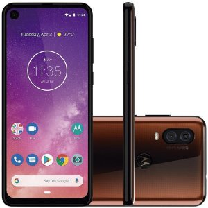 "SMARTPHONE MOTOROLA ONE VISION 128GB  48MP+5MP 6.3"" ANDROID 9.0 BRONZE"