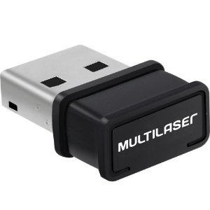 ADAPTADOR WIRELESS MULTILASER NANO USB 150MBPS DONGLE