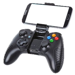 CONTROLE GAMEPAD DAZZ BLUETOOTH ORBITER P/ ANDROID E IOS PRETO
