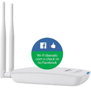 ROTEADOR INTELBRAS WIRELESS HOTSPOT 300mbps 2.4GHz BRANCO