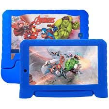"TABLET MULTILASER AVENGERS 7"" WIFI 8GB DUAL CAM 2MP+1.3MP AZUL"