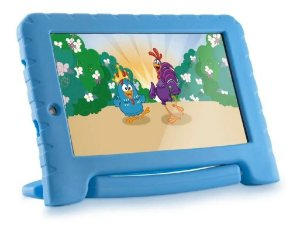 "TABLET MULTILASER GALINHA PINTADINHA 7"" WIFI 8GB CAM 2MP +1.3MP AZUL"