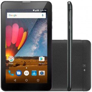 TABLET MULTILASER M7 PLUS NB269 TELA 7.0' 3G 8GB 2MP QUADCORE PRETO