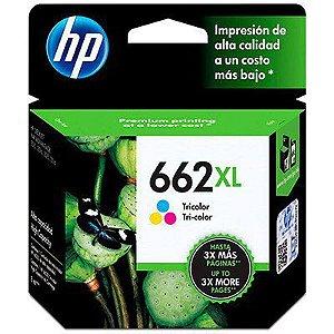 CARTUCHO DE TINTA CZ106AB HP 662XL COLORIDO