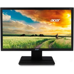 "MONITOR ACER 21.5"" WIDESCREEN LED FULL HD HDMI VGA DVI 60Hz V226HQL PRETO"