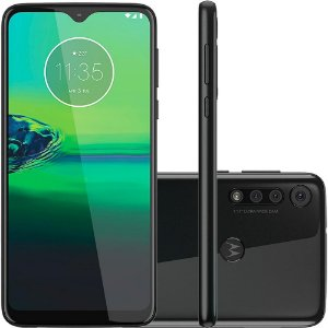 "SMARTPHONE MOTOROLA MOTO G8 PLAY 32GB 13MP+8MP 6.2"" PRETO"