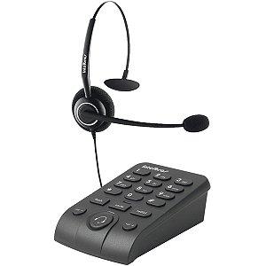 FONE DE OUVIDO HEADSET PARA TELEFONE COM BASE INTELBRAS HSB-50