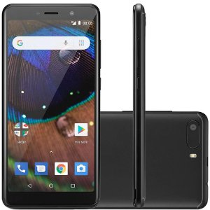 "SMARTPHONE MULTILASER ANDROID MS50X 16GB 8MP 5.5"" PRETO"