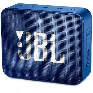 CAIXA DE SOM JBL GO 2 BLUETOOTH PORTATIL AZUL JBLGO2BLUBR