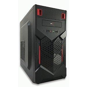 COMPUTADOR BRX I7 8GB 1TB HD WIND10 VERMELHO&PRETO