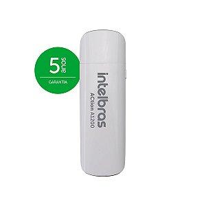 ADAPTADOR INTELBRAS USB 3.0 WIRELESS 1200MBPs ACTION A1200