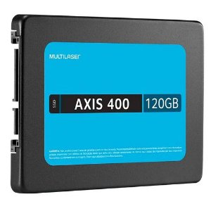 DISCO INTERNO SSD AXIS 400 MULTILASER 120GB 2.5 SATA 400MBPS