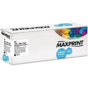 TONER MAXPRINT COMPATIVEL HP 35A/36A/85A 1600PGS PRETO
