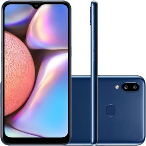 "SMARTPHONE SAMSUNG GALAXY A10S 32GB 13MP 6.2"" ANDROID AZUL"
