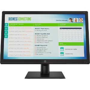 MONITOR HP LED 18.5P WIDESCREEN VGA V19B 1368X768 PRETO