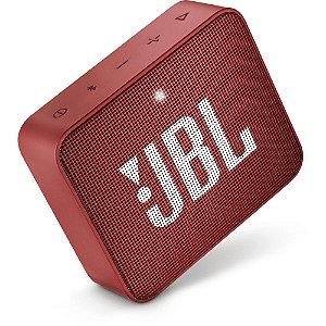 CAIXA DE SOM JBL GO 2 BLUETOOTH PORTATIL VERMELHA JBLGO2REDBR