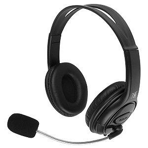 FONE DE OUVIDO HEADSET MAXPRINT USB 2.0 S/ CONTROLE DE VOLUME 6013322 PRETO