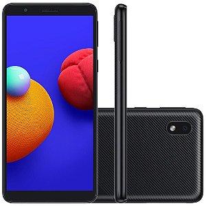 SMARTPHONE SAMSUNG GALAXY A01 32GB 4G 8MP 5.3POL PRETO